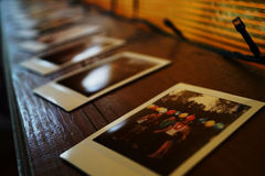 polaroid Foto de archivo libre de regalías