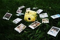 polaroid Royalty-vrije Stock Foto's