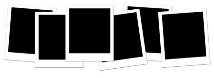 Polaroid in bianco 1 Immagini Stock