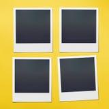 Polaroid in bianco Fotografia Stock