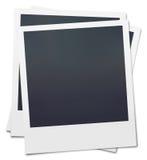 Polaroid in bianco Fotografia Stock Libera da Diritti