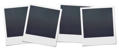Polaroid in bianco Immagini Stock