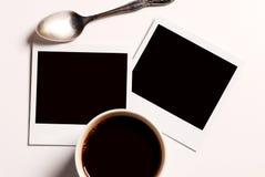Polaroid in bianco Fotografie Stock Libere da Diritti