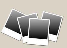 Polaroid blank photos Royalty Free Stock Photography