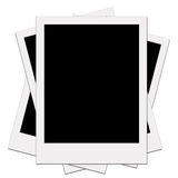 Polaroid blank of picture Royalty Free Stock Images