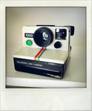 Polaroid camera. Stock Photography