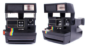 Polaroid- camera Stock Foto's