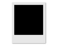 Polaroid card Royalty Free Stock Photos