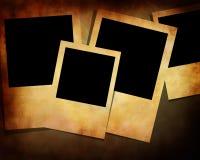 Polaroid collection Royalty Free Stock Image