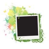 Polaroid da flor Imagens de Stock Royalty Free