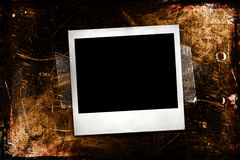 Polaroid de Grunge Foto de Stock