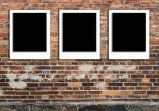 Polaroid del modello delle illustrazioni della struttura della foto fotografia stock libera da diritti
