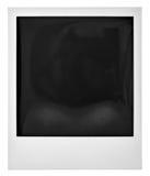 Polaroid della struttura della foto su bianco Fotografia Stock Libera da Diritti