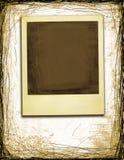 Polaroid do estilo de Grunge fotos de stock