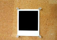 Polaroid em branco #2 imagens de stock royalty free