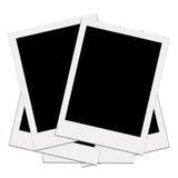 Polaroid en blanco 2 Foto de archivo