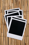 Polaroid film blanks Stock Photography