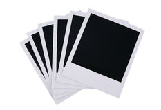 Polaroid film blanks Royalty Free Stock Photos