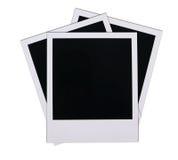 Polaroid film blanks Stock Photos