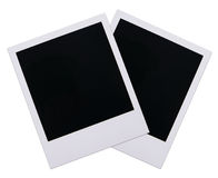 Polaroid film blanks Stock Photos
