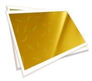Polaroid film frames. 2D digital art Stock Photography