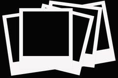 Polaroid film Stock Photography