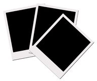 Polaroid- Films (met het knippen van weg) Stock Fotografie