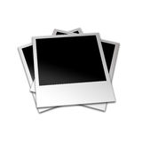 Polaroid- foto's Stock Foto's