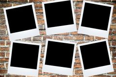 Polaroid fotografii rama Fotografia Royalty Free