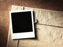 Polaroid fotografii stylowa rama fotografia royalty free