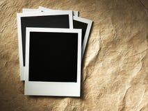 Polaroid fotografii stylowa rama obrazy stock