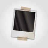 Polaroid- fotokader Stock Foto