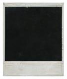 polaroid för filmram Arkivfoto