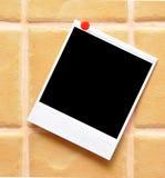 Polaroid frame Stock Photo