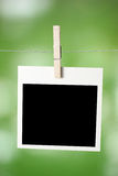 Polaroid frame Royalty Free Stock Image
