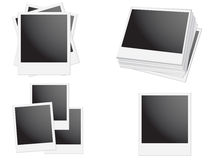 Polaroid Frame Stock Photography