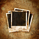 Polaroid frame on grunge Royalty Free Stock Photo