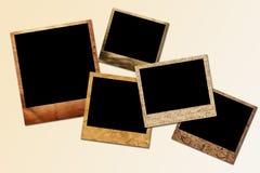 Polaroid- frames Stock Afbeeldingen