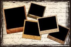 Polaroid frames Royalty Free Stock Image