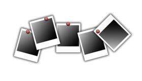 Polaroid- frames royalty-vrije illustratie
