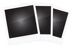 Polaroid frames Stock Photography