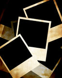 Polaroid frames. Collection of polaroid frames on background Royalty Free Stock Image