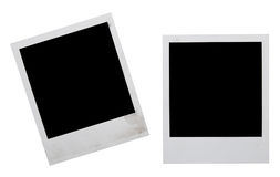 Polaroid frames Stock Images