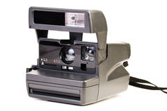Polaroid instant camera Stock Photo