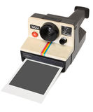 Polaroid instant camera royalty free stock photography