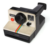 Polaroid instant camera Stock Photography
