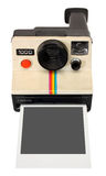Polaroid instant camera. With clipping path Stock Photography