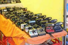 Polaroid- kameror Arkivfoto