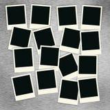 polaroid kolaż Fotografia Stock