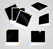 Polaroid leerer Rahmen Lizenzfreies Stockbild